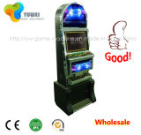 Casino da gala do desenvolvimento do jogo do entalhe das máquinas de moeda para a venda