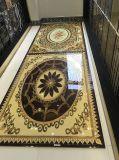 décoration en cristal d'étage de porcelaine de 1800X1200mm pour l'entrée d'hôtel