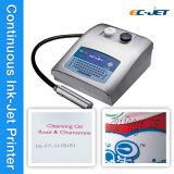 Impresora de inyección de tinta solvente industrial de Cij de la fecha de vencimiento de Printmark de la impresión del jet (EC-JET300)