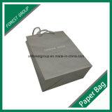 Kundenspezifischer Offsetpapier-farbiger Papierbeutel mit Baumwolseilen