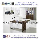 Secretária executiva de escritório de móveis em madeira de China com forma de L (D1618 #)