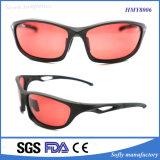 Nuevas gafas de sol plásticas del deporte de la promoción del diseñador con el Ce aprobado