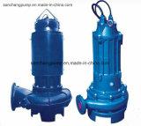 Bomba de agua sumergible de aguas residuales con motor incorporado