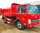 Cargaison de faible puissance automatique de Sinotruk Cdw 737series petite mini inclinant le camion à benne basculante de tombereau de camion à benne basculante