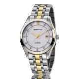 宝石類の自動ステンレス鋼の実業家の腕時計
