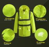 Breathable 사려깊은 비옷 Worksuit 재킷 일 제복