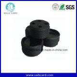 UHF Alienh3 étiquette RFID ABS Waste Batch pour la gestion des compartiments