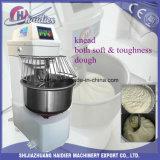 Máquina de mistura resistente do pão do misturador de massa de pão da padaria do misturador da espiral do aço inoxidável