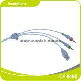 Fone de ouvido e fone de ouvido USB Fone de ouvido com microfone
