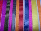 Schweres schwarzes Polypropylen der Webart-25mm/Nylon-/Polyester-gewebtes Material