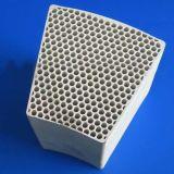 Recuperatore di ceramica del favo utilizzato per il catalizzatore della caldaia (HTAC)