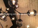 2017 Lâmpada pendurada em estilo italiano em lustre Lâmpada de vidro para decoração de sala de estar