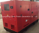 DreiphasendieselGenset 240-Volt-Hotel-Gebrauch-schalldichter Dieselgenerator 50kVA