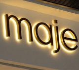 segno al neon del segno della lettera 3D e del segno della Manica dei contrassegni LED della resina