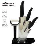 ножи инструментов кашевара 5PCS керамические установленные для ножей кухни шеф-повара