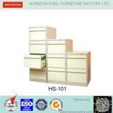 Стальная офисная мебель шкафа для картотеки с полной ручкой гнезда ширины для хранения архива Foolscap размера F4 вися/мебелью металла для рынка японии
