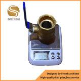 A válvula de esfera soldada e sanitária de venda quente Dn40
