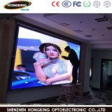 Tablilla de anuncios video a todo color de interior de LED de P7.62 LED