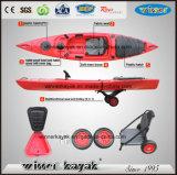 Kayak en plastique de pêche de la CE à vendre