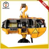 Type de bride à chaînes et usage d'élévateur de construction type de Kito de 2 tonnes élévateur à chaînes électrique avec le contrôle par radio