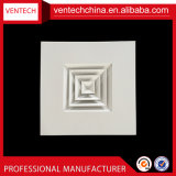 Climatiseur plafond Diffuseur carré en métal de remplacement