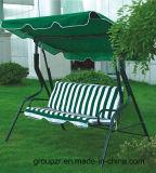 옥외 3개의 시트 정원 그네 의자
