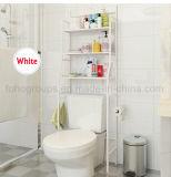 غرفة حمّام رصيف صخري فراغ ينضّد حافظة على المرحاض سلك معدن تخزين منام مع 3 صفح