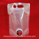 De plastic Verpakkende Zak van de Koffie met Ritssluiting en het Ontgassen Klep