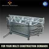 Q345 materielles Ringlocks Gestell-Stahlsystem für Bau-Sektor