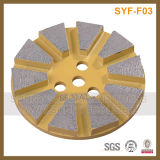Abrasive Magic Tape Backed Diamond Cup Grinding Wheel