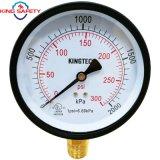 Calibrador de presión mencionado de la UL para el circuito de agua