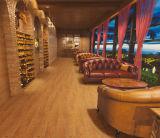 Sgs-natürliche Bauholz-Asche glasig-glänzende Porzellan-Fußboden-Fliese