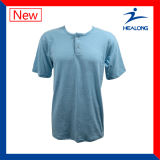 Healongの上の販売のスポーツ・ウェアの一義的なCut&Sewの明白な野球ジャージー
