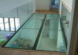 10+1.52+10mmの安全によって和らげられる薄板にされたガラスの床