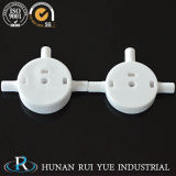 Disco de cerámica de la válvula del lacre del vario alúmina de encargo de la dimensión el 95%
