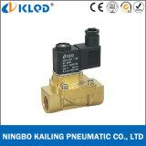 2V130-15 1/2 дюйма латунь материал электромагнитный клапан с сервоуправлением