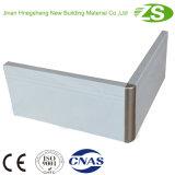 Montage mural de haute qualité en aluminium ou plinthe en PVC