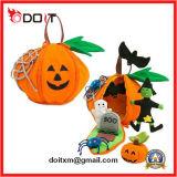 아이 휴일 장난감 Halloween 선물에 의하여 채워지는 연약한 호박 견면 벨벳 장난감