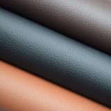 Couro sintético do PVC da grão do Litchi para a decoração interior do Footpad do carro