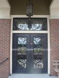 熱い販売は鉄の入口の前ドアを手造った