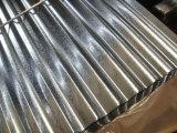 熱い浸された電流を通された波形の鋼板