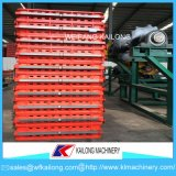 Linha de molde caixa da máquina da elevada precisão de molde usada para a fundição