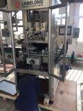 De volledig-automatische Flessen die van het Huisdier van de Drank de Machine van de Etikettering van de Koker krimpen