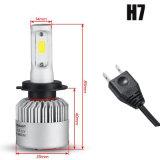 H7 차 LED 헤드라이트 전구 50W 8000lm 크리 말은 1개의 Headlamp 자동차 안개 정면 빛 12V에서 Csp LED 헤드라이트를 전부 잘게 썬다