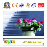 vetro di vetro modellato/reticolo di 3~8mm usato per la finestra, la mobilia, ecc