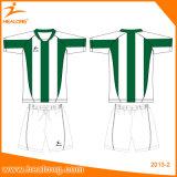 チームクラブのための安い価格のスポーツ・ウェアのデジタル印刷のサッカーのワイシャツ