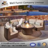 Disposizione dei posti a sedere profonda buona di Furnir WF-17093 6pc sezionale con la Tabella del fuoco
