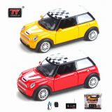 1: 36 RC Diecast Car (indicatore luminoso, musica), R/C Car, R/C Muoiono-Casting Car