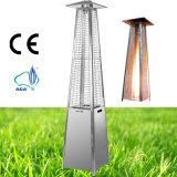 Tubo de cuarzo de la pirámide de llama Real Gas calentador de Patio al Aire Libre (acero inoxidable)