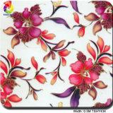 Tshy Tsautop 0,5M455 Motif fleurs solubles dans l'impression de transfert de film/papier
